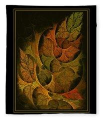 Fall Transitions Fleece Blanket
