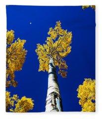 Falling Leaf Fleece Blanket