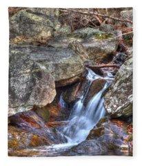 Fallingwater Cascades 22 Fleece Blanket