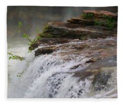 Falls Of Alabama Fleece Blanket