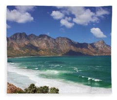 False Bay Drive Fleece Blanket