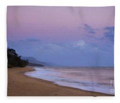 Fancy A Morning Swim Fleece Blanket
