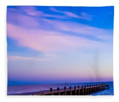 Fantasy Pier Fleece Blanket