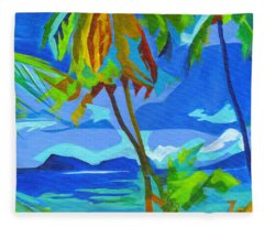 Dream Islands. Maui Fleece Blanket