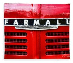 Farmall Fleece Blanket