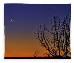 Favorite Moon Fleece Blanket