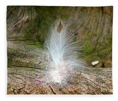 Feather Fleece Blanket
