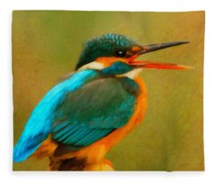 Feathered Friends Fleece Blanket