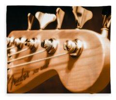 Fender Jazz Fleece Blanket