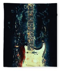 Fender Strat Fleece Blanket