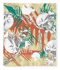 Ferns Fleece Blanket