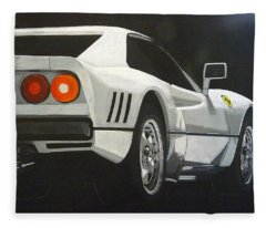 Ferrari 288 Gto Fleece Blanket