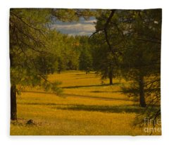 Field Of Flowers Fleece Blanket