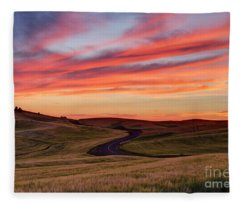 Fields And Dreams Fleece Blanket
