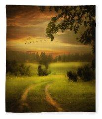 Fields Of Dreams Fleece Blanket