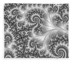 Filigree Pearl Fleece Blanket