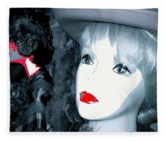 Film Noir Stanley Kubrick Frank Silvera Killer's Kiss 1955 Mannequin Casa Grande Arizona 2006  Fleece Blanket