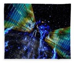 Final Exit Fleece Blanket