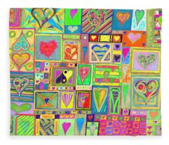 find U'r Love found   v20 Fleece Blanket