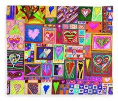 find U'r love found v8 Fleece Blanket