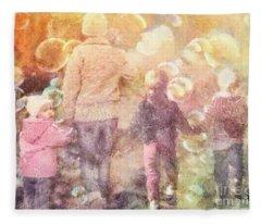 Finding Neverland Fleece Blanket