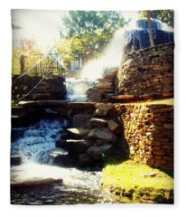 Finlay Park Fountain Fleece Blanket