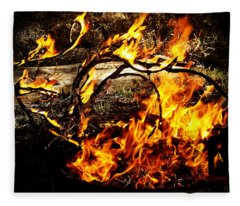 Fire Fairies Fleece Blanket