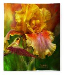 Fire Goddess Fleece Blanket