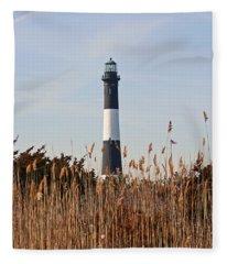 Fire Island Tower Fleece Blanket