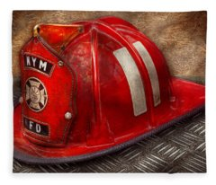 Fireman - Hat - A Childhood Dream Fleece Blanket
