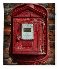 Fireman - The Fire Alarm Box Fleece Blanket