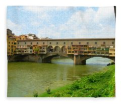 Firenze Bridge Itl2153 Fleece Blanket