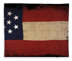 Us Civil War Fleece Blankets