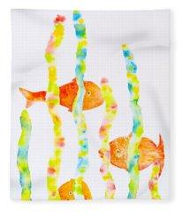Fish Fun Fleece Blanket
