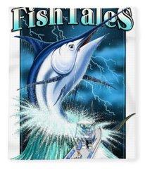Fish Tales Fleece Blanket