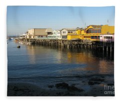 Fisherman's Wharf Fleece Blanket