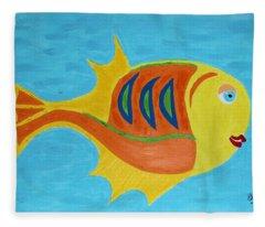 Fishie Fleece Blanket
