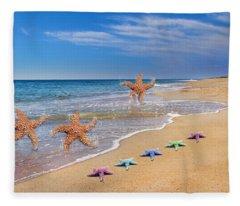 Five Star Beach Yippe Yah Fleece Blanket