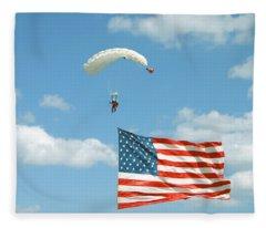 Flagdiver Fleece Blanket