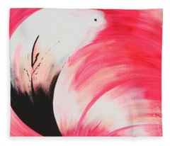 Flamingo Fleece Blanket