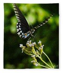 Flattering Flutter Fleece Blanket