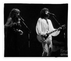 Fleetwood Mac In Amsterdam 1977 Fleece Blanket