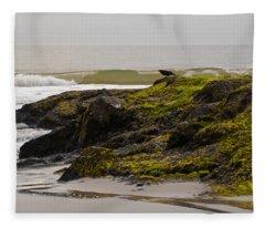 Flight Jitters Fleece Blanket