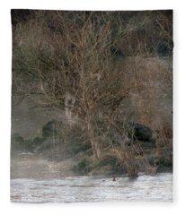 Flint River 19 Fleece Blanket