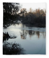 Flint River 20 Fleece Blanket