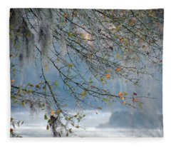 Flint River 29 Fleece Blanket
