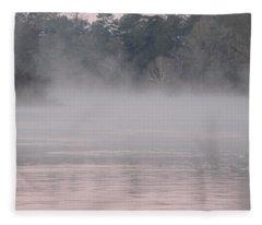 Flint River 3 Fleece Blanket