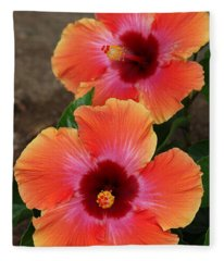 Floral Beauty 2  Fleece Blanket