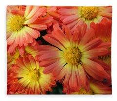 Floral Frenzy 2 Fleece Blanket