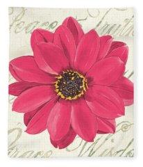 Floral Inspiration 3 Fleece Blanket